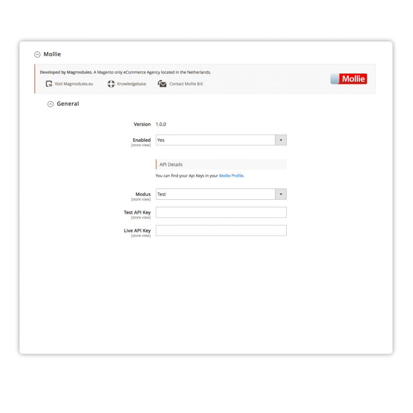 Mollie Payments Magento 2 Extension | Magmodules
