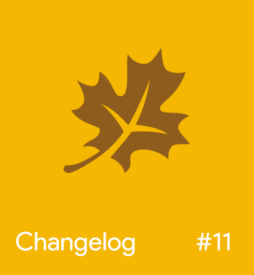 Magento Changelog November